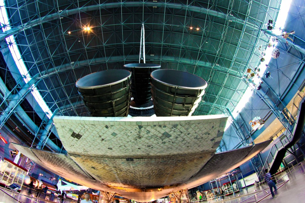 Space Shuttle Discovery at the Steven F. Udvar-Hazy Center
